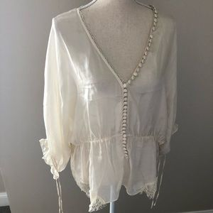 Elizabeth and James silky blouse